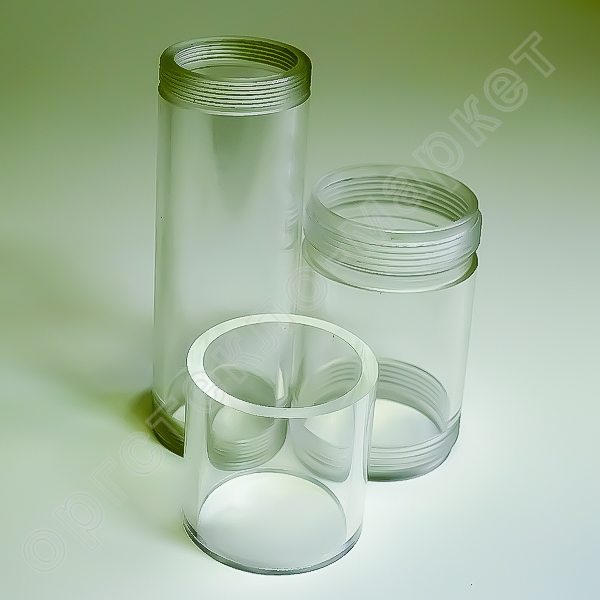 прозрачные трубы из оргстекла